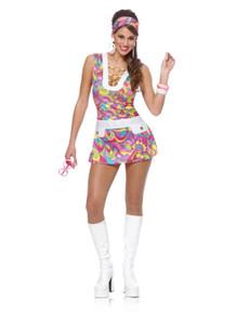 """""""Groovy Chic"""" Ladies 60's Costume (48251)"""
