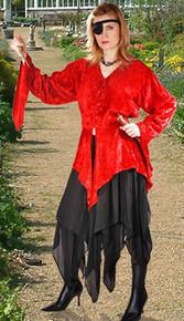 Ashaki Skirt Jagged & Layered