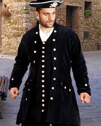 Captain De Lisle Pirate Coat