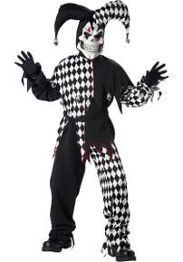 Evil Jester Boy's Costume
