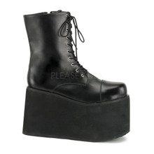 "Frankenstein Monster Boots 5"" Ankle Boot with Platform"