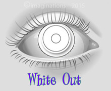 """White Out """"White Zombie"""" Collectible Novelty Lenses"""