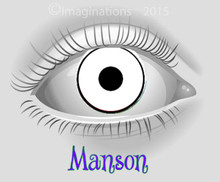 Manson Theatrical Contact Lenses
