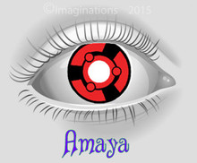 Amaya Weighted Collectible Novelty Lenses