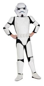 Deluxe Stormtrooper Licensed Kids Star Wars Costume
