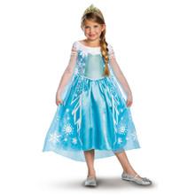 Deluxe Elsa Licensed Frozen Disney Princess Costume