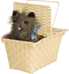 Wizard of Oz Toto in a Basket Licensed Accessory