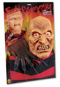 Freddy Krueger Costume Kit : Shirt, Glove, Mask