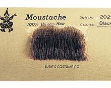 Chaplin Moustache 100% Human Hair