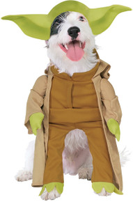 Yoda Dog Plush Costume Licensed Star Wars
