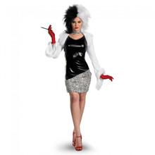 Cruella de Vil Licensed 101 Dalmatians Costume