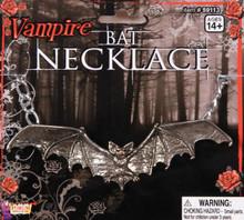 /vampire-bat-necklace-silver/