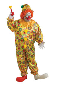 Jack the Jolly Plus Size Clown Costume