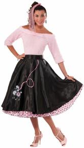 /poodle-skirt-black-with-pink-black-trim/