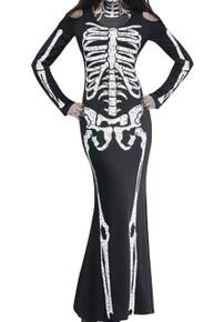 Skeleton Dress Long