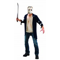 Friday the 13th Licensed Jason Voorhees Shirt & Mask