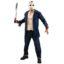 Friday the 13th Licensed Deluxe Jason Vorhees Shirt & Mask