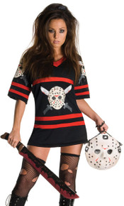 Miss Voorhees Dress & Mask Handbag Licensed Friday the 13th