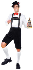 Hansel Adult Costume Liederhosen & Hat