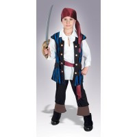 Boy's Pirate King Costume