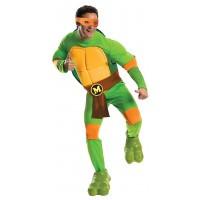 Michaelangelo Deluxe Adult Teenage Mutant Ninja Turtles Costume