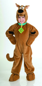 Deluxe Scooby Doo Kids Furry Jumpsuit