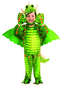 Kids Deluxe Silly Sarafi Tyrannosaurs Jumpsuit w/ Hood