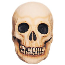 Skull Mask Latex Adult One Size Fits Most