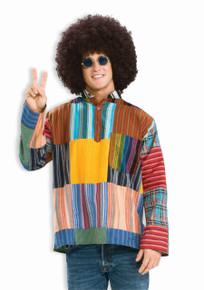 /patchwork-shirt-male-hippie-shirt/