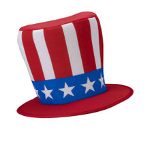 Patriotic Hat Fourth of July Top Hat