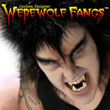 Custom Designer Werewolf Fangs