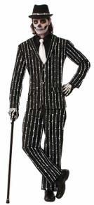 Skeleton Suit Bone Collection Bone Pin Stripe Suit