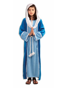 Deluxe Mary Costume Kids Biblical Times