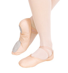 Capezio Adult Canvas Juliet Split Sole Ballet Shoe Light Ballet Pink