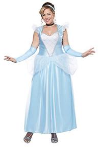 Cinderella Classic Plus Size Blue Princess Dress