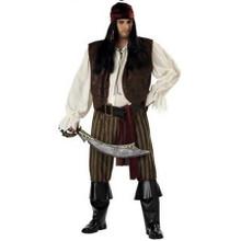 Rogue Pirate Plus Size Men's Costume