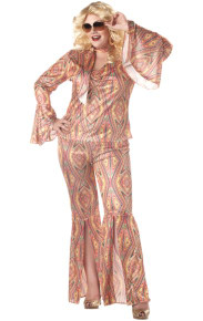 Discolicious Plus Size 70's Costume