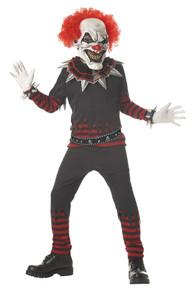 Creepy Clown Boy's Costume