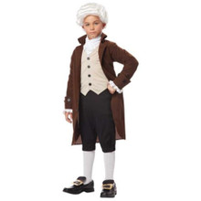 Benjamin Franklin Boy's Colonial Costume