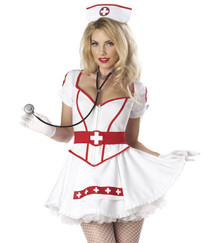 Nurse Heart Breaker Deluxe Costume