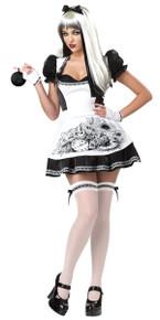 Dark Alice Black & White Cheshire Costume