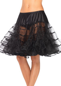 Knee Length Petticoat Assorted Colors