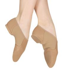Neo Flex Slip On Jazz Shoes - Tan