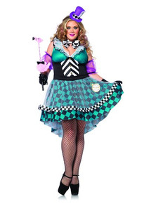 Alice Full Figure Manic Mad Hatter
