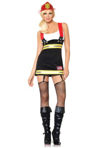 Backdraft Babe Firefighter Dress
