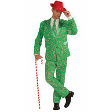 Candy Cane Suit & Tie Christmas Business Suit