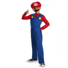 Super Mario Brothers Mario Licensed Kids Costume