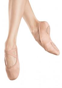 Zenith Pink Canvas Split Sole Ballet Shoe