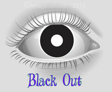 Black Out Theatrical Collectible Novelty Lenses