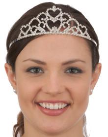/double-heart-silver-rhinestone-tiara/